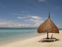 A place in the shade. Bohol, Philippines royalty free stock images