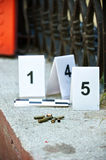 Place of shooting-inspection Stock Images