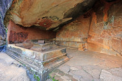 Place in Sigiriya Castle Royalty Free Stock Photography