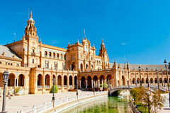 Place of Spain in Seville Stock Photo
