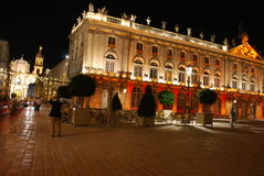 Place Stanislas à Nancy Royalty Free Stock Photo