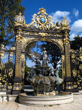 Place Stanislas 02, Nancy, FR Stock Photo