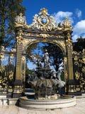 Place Stanislas 02, Nancy, FR Stock Photo