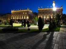 Place Stanislas 06, Nanacy, FR Stock Photography