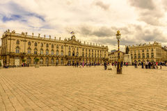 Place Stanislas, Historical city center of Nancy in Lorraine, France. Place Stanislas in Historical city centre of Nancy, Lorraine, France Stock Photo