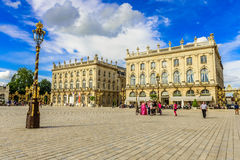 Place Stanislas, Historical city center of Nancy in Lorraine, France Stock Photography