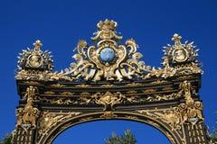Place Stanislas in Nancy Stock Image