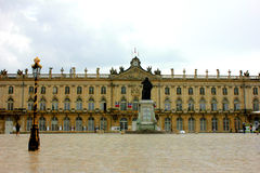 Place stanislas at nancy france. Wiew of place stanislas at nancy france Royalty Free Stock Photo