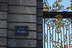 Place Stanislas Royalty Free Stock Photo