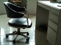 Place for Study. (with chair and tesk Stock Images