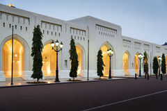 Place Sultan Qaboos Palace Stock Image