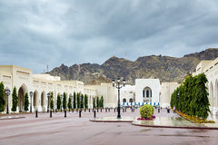 Place Sultan Qaboos Palace Stock Photos