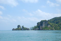 Koh mook in Krabi and Trang south of Thailand. This place is Koh mook in Krabi and Trang south of Thailand.Island that take a boat far from Trang province.White Stock Photography