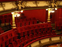 Place in theatre Royalty Free Stock Photography