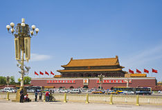 Place Tiananmen Images stock