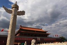 Place Tiananmen Images libres de droits