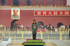 Place Tiananmen de Pékin en Chine Photo stock