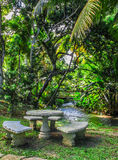 A place to rest in the jungle Stock Photography