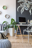 Place to work at home Royalty Free Stock Images