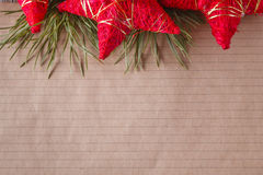Place to you text for christmas greeting Royalty Free Stock Images