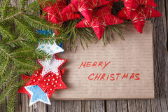 Place to you text for christmas greeting Royalty Free Stock Photo