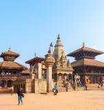 Place Vatsala Durga Angled de Bhaktapur Durbar photographie stock libre de droits