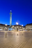 Place Vendome. View of the Place Vendome, Saturday July 2, 2011 Stock Photography