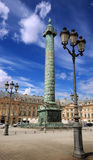 Place Vendome. Stock Photos