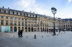 Place Vendome in Paris Royalty Free Stock Image