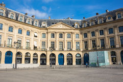 Place Vendome in Paris Stock Images