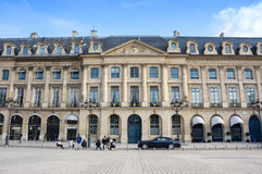 Place Vendome in Paris Royalty Free Stock Photos