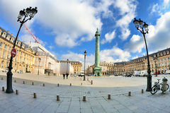 Place Vendome Royalty Free Stock Photos