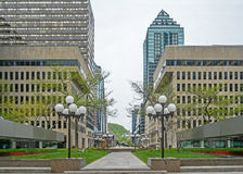 Place Ville Marie Montreal (belvedere) Royalty Free Stock Photos