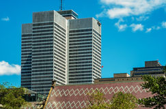 Place Ville Marie. (PVM for short) is a large office and shopping complex in central Montreal, Quebec, Canada. Comprising four office buildings and an Stock Photos