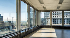 Place Ville Marie view 19th floor Stock Photo
