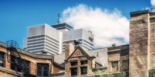Place Ville Marie(Widsors train station) Stock Images