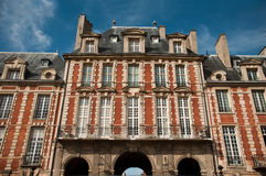 Place of Vosges in Paris Royalty Free Stock Photos
