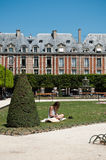Place of Vosges in Paris Royalty Free Stock Photography