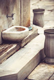 A place for washing the feet in a Mosque Royalty Free Stock Image