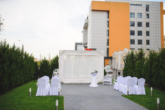 Place for Wedding Ceremony Royalty Free Stock Photos