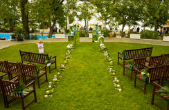The place for wedding. Stock Photography