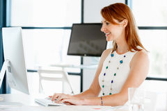 That is a place for work and success Royalty Free Stock Photo