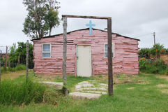 Place of worship. Nemato Location, Eastern Cape, South Africa Royalty Free Stock Photo