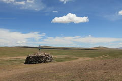 Place of Worship Mongolia Royalty Free Stock Image