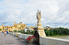Place of worship outdoors in Cordoba Royalty Free Stock Image