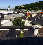 Place of worship on the roof, Salzburg Stock Photos