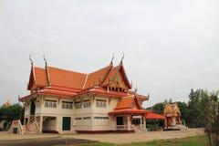 Place of worship at Wat Khun Sai Royalty Free Stock Photography
