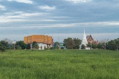 Place of worship at Wat Lard Sai Stock Photography