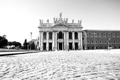 Place of worship where all Italians gather Sunday Royalty Free Stock Photography