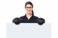 Place your ad here related to boxing Royalty Free Stock Image